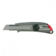 ATORN Нож со сменным лезвием 18мм, металлический корпус