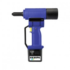 GESIPA Заклепочник PowerBird с 14,4 В литий-ион. аккум. и зар. устр., в чемодане