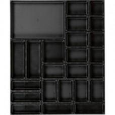 AQURADO Набор для орг., 25 эл., разм. коврика ШxГ 696x576 мм, высота кор. 48 мм