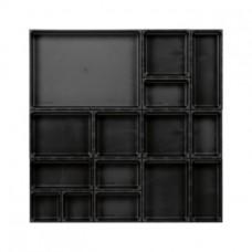 AQURADO Набор для орг., 16 эл., разм. коврика ШxГ 576x576 мм, высота кор. 48 мм