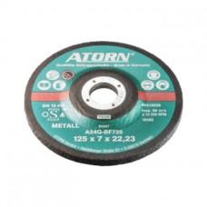 ATORN Диск зачистной для обработки цветных металлов, 180x 7,0 x 22,2 мм