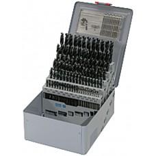 ORION Сверла спиральные (наб.) HSS DIN 338, 1,0-10,5 мм шаг 0,5 мм +ОПР+ ящ.