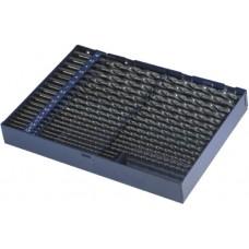 ATORN Сверла спиральные HSS (наб.), сверхдлинное исполнение 1,5-10 шаг 0,5 в металлическом футляре