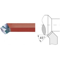 ORION Резец токарный HSSE 20x20 мм 45° , изогнутый