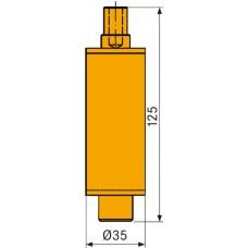 DIEBOLD Оснастка для зажима инструментов ThermoGrip HSK 25/32 для устройства жидкостного охлаждения FKS 03