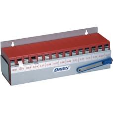 ORION Ленты калибровочные (наб. 0,01-0,25 мм) в фиксирующем корпусе