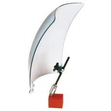Щит защитный сварочный из акрила, без магнитного основания 200х250 мм
