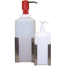 Держатель настенный PR, из высококачественной стали, для бутылок емкостью 1 литр