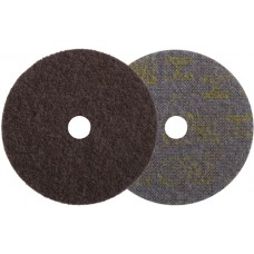 3M SL-DH Диск шлифовальный из нетканого материала Scotch-Brite, d125 мм, с центровкой, точность обработки грубая HD =, зерно 080